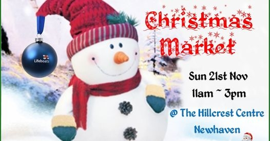 Newhaven Lifeboat Events Christmas Market
